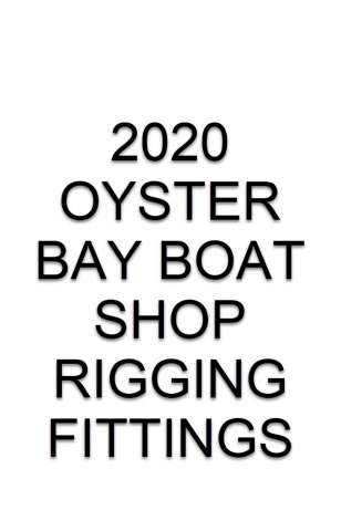 Oyster Bay Boat Shop Rigging Fittings